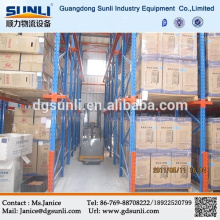 Adjustable Double Deep Heavy Duty Pallet Racking